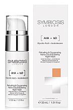 Parfüm, Parfüméria, kozmetikum Oxigén éjszakai arcmaszk - Symbiosis London Refuelling & Oxygenating Nano-Cloud Bubbling Night Mask