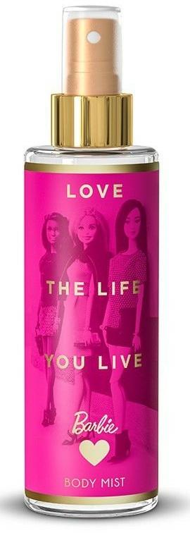 Baba testspray - Bi-Es Barbie Love The Life Body Mist