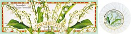 "Parfüm, Parfüméria, kozmetikum Szappan készlet ""Gyöngyvirág"" - Saponificio Artigianale Fiorentino Lily Of The Valley Soap"