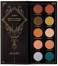 Parfüm, Parfüméria, kozmetikum Szemhéjfesték paletta - Zoeva Aristo Eyeshadow Palette