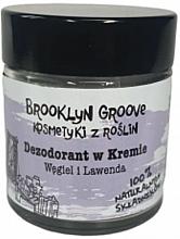 Parfüm, Parfüméria, kozmetikum Izzadásgátló krém levendula és citromfű illattal - Brooklyn Groove Deodorant Cream