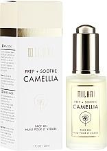 Parfüm, Parfüméria, kozmetikum Arcápoló kamélia olaj érzékeny bőrre - Milani Prep + Soothe Camellia Face Oil