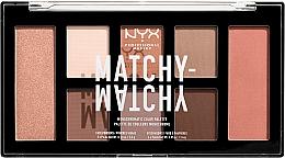 Parfüm, Parfüméria, kozmetikum Sminkpaletta - NYX Professional Makeup Matchy Matchy Palette