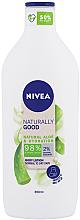 Parfüm, Parfüméria, kozmetikum Testápoló lotion - Nivea Naturally Good Body Lotion