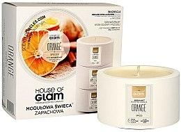 Parfüm, Parfüméria, kozmetikum Illatosított gyertya - House of Glam Orange Spices Candle