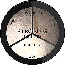 Parfüm, Parfüméria, kozmetikum Highlighter szett - Ingrid Cosmetics Strobing Glow Palette