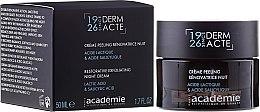 Parfüm, Parfüméria, kozmetikum Éjszakai ránctalanító krém peeling hatással - Academie Peeling Renovatrice Nuit Acide Lactique & Acide Salicylique