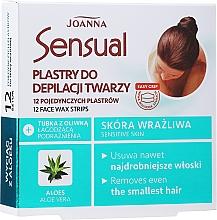 Parfüm, Parfüméria, kozmetikum Arcgyanta csík aloe kivonattal - Joanna Sensual Depilatory Face Strips