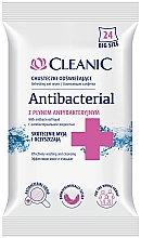 Parfüm, Parfüméria, kozmetikum Antibakteriális törlőkendő, db - Cleanic Antibacterial Wipes