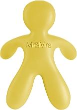 Parfüm, Parfüméria, kozmetikum Mr&Mrs Fragrance Cesare Yellow Vanilla - Autóillatosító