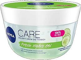 Parfüm, Parfüméria, kozmetikum Hidratáló hialuron gél arcra, uborka kivonattal - Nivea Care Fresh Hydro Gel