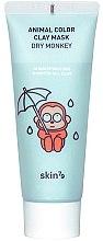 Parfüm, Parfüméria, kozmetikum Hidratáló agyagmaszk - Skin79 Animal Color Clay Mask Dry Monkey