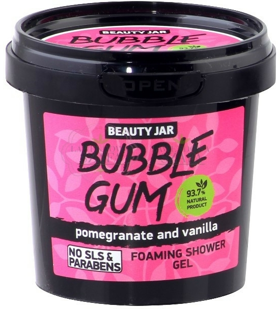 "Tusoló gél ""Bubble Gum"" - Beauty Jar Foaming Shower Gel"