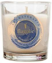 """Parfüm, Parfüméria, kozmetikum Illatosított gyertya """"Nyugodt alvás"""" - Flagolie Fragranced Candle Rest Sleep"""