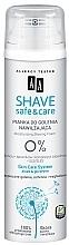 Parfüm, Parfüméria, kozmetikum Hidratáló borotvahab - AA Shave Safe & Care