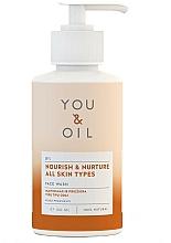 """Parfüm, Parfüméria, kozmetikum Arctisztító szer """"Táplálás és ápolás"""" - You & Oil Nourish & Nurture Face Wash"""