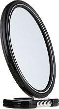 Parfüm, Parfüméria, kozmetikum Kétoldalas tükör, 9503, fekete - Donegal Mirror