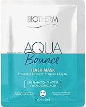 Parfüm, Parfüméria, kozmetikum Hidratáló szövetmaszk - Biotherm Aqua Bounce Flash Mask