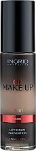 Parfüm, Parfüméria, kozmetikum Alapozó krém - Ingrid Cosmetics Lift Serum Foundation SPF8