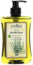 Parfüm, Parfüméria, kozmetikum Folyékony szappan aloe kivonattal - Melica Organic Aloe Vera Liquid Soap
