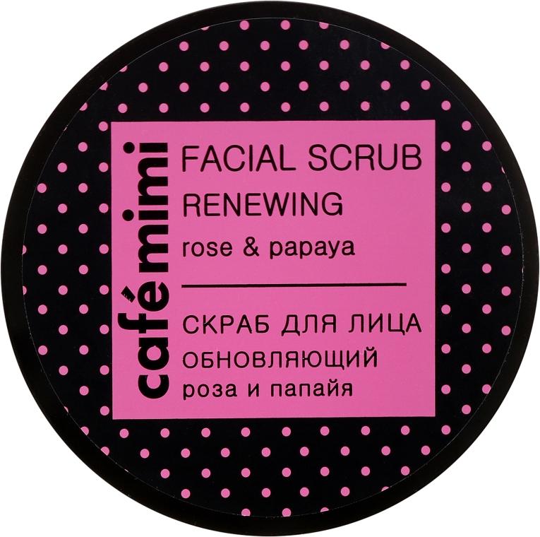 """Arcradír """"Bőrújító"""" - Cafe Mimi Facial Scrub Renewing — fotó N2"""