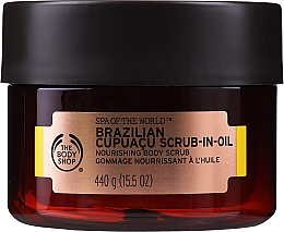 Parfüm, Parfüméria, kozmetikum Olaj peeling - The Body Shop Brazilian Cupuacu Scrub-in-oil