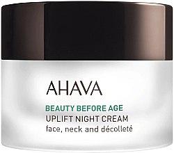 Parfüm, Parfüméria, kozmetikum Éjszakai lifting krém - Ahava Beauty Before Age Uplifting Night Cream For Face, Neck & Decollete