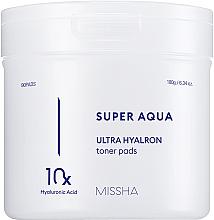 Parfüm, Parfüméria, kozmetikum Hialuronsav komplex hidratáló tapasz - Missha Super Aqua Ultra Hyalron Toner Pads
