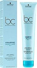 Parfüm, Parfüméria, kozmetikum Krém göndör hajra - Schwarzkopf Professional Bonacure Hyaluronic Moisture Kick Curl Power 5