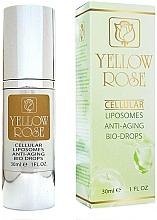 Parfüm, Parfüméria, kozmetikum Öregedésgátló szépségcseppek - Yellow Rose Cellular Liposomes Anti-Aging Bio-Drops