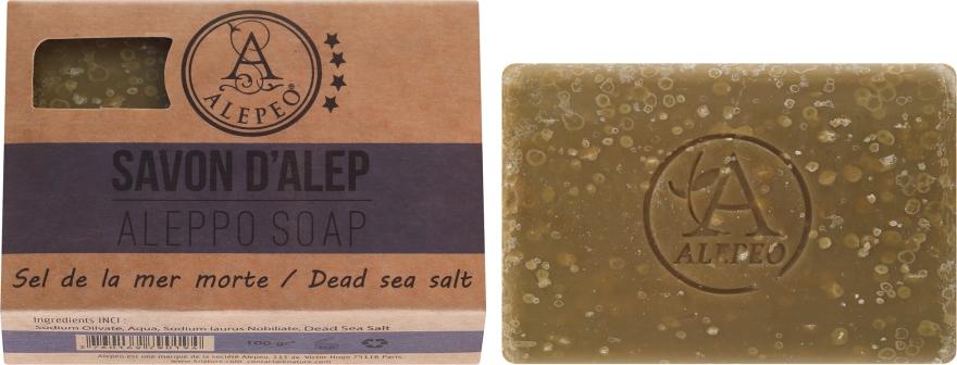 Aleppo szappan tengeri sóval - Alepeo Aleppo Soap Dead Sea Salt 8%
