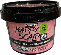 Parfüm, Parfüméria, kozmetikum Fejbőrtisztító peeling - Beauty Jar Happy Skalp Deep Cleansing Scalp Scrub