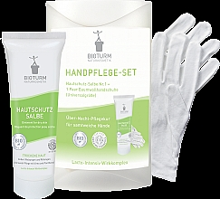 Parfüm, Parfüméria, kozmetikum Kézápoló szett - Bioturm Hand Care Set (cr/50ml + gloves)