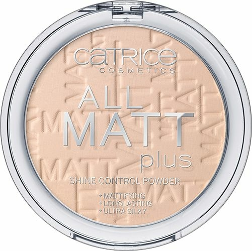 Mattító púder - Catrice All Matt Plus Shine Control Powder