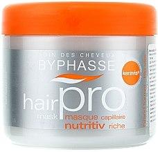 Parfüm, Parfüméria, kozmetikum Tápláló maszk száraz hajra - Byphasse Hair Pro Mask Nutritiv Riche