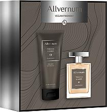 Parfüm, Parfüméria, kozmetikum Allvernum Tobacco & Amber - Szett (edp/100ml + sh/gel/200ml)