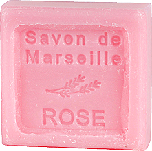 "Parfüm, Parfüméria, kozmetikum Marseille-i szappan ""Rózsa"" - Le Chatelard 1802 Soap Savon De Marseille Rose"