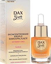 Parfüm, Parfüméria, kozmetikum Önbarnító koncentrátum - Dax Sun Self-tanning Concentrated Drops