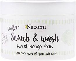 "Parfüm, Parfüméria, kozmetikum Peeling mosakodó hab ""Mangó"" - Nacomi Scrub and Wash Sweet Mango Foam"
