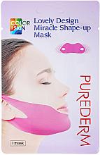 Parfüm, Parfüméria, kozmetikum Arcfeszesítő maszk - Purederm Lovely Design Miracle Shape-up V-line Mask
