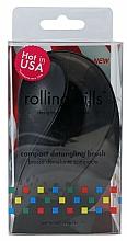Parfüm, Parfüméria, kozmetikum Kompakt hajfésű, fekete - Rolling Hills Compact Detangling Brush Black