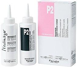 Parfüm, Parfüméria, kozmetikum Dauer készlet festett hajra - Fanola P2 Perm Kit for Coloured and Treated Hair