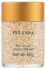 """Parfüm, Parfüméria, kozmetikum Krém arcra és nyakra """"Bio arany"""" - Pulanna Bio-Gold Gold Cream"""