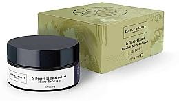 Parfüm, Parfüméria, kozmetikum Gyengéd mikrohámlasztó arcra - Edible Beauty Desert Lime Flawless Micro Exfoliant