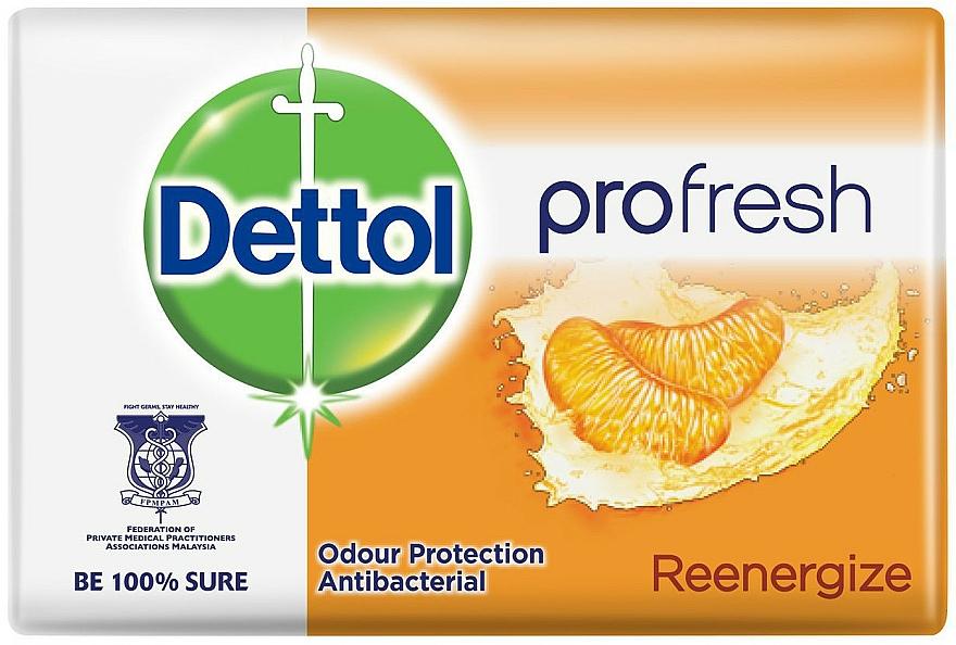 Antibakteriális szappan mandarin illattal - Dettol Anti-bacterial Re-Energise Bar Soap
