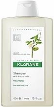 """Parfüm, Parfüméria, kozmetikum Sampon """"Mandula"""" vékonyszálú hajra - Klorane Volumising Shampoo with Almond Milk"""