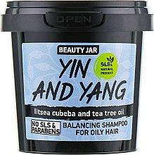 "Parfüm, Parfüméria, kozmetikum Sampon zsíros hajra ""Yin and Yang"" - Beauty Jar Shampoo For Oily Hair"