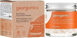 Parfüm, Parfüméria, kozmetikum Natúr fogpor - Georganics Red Mandarin Natural Toothpowder