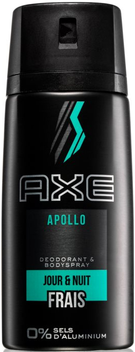 Dezodor, aluminium mentes - Axe Apollo Daily Fragrance Deodorant Body Spray