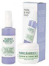 Parfüm, Parfüméria, kozmetikum Szett - Mario Badescu Lavender Mask & Mist Duo Set (mask/56g+spray/118ml)